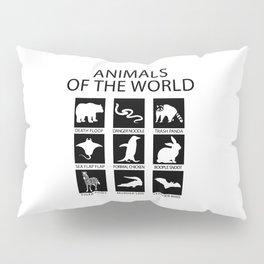 RARE ANIMALS OF THE WORLD Pillow Sham