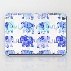 Elephants – Blue Palette iPad Case