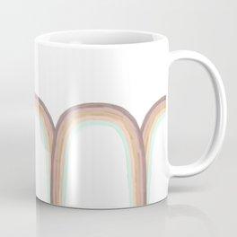 pastel rainbow drawn by unicorns Coffee Mug