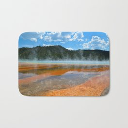 Grand Prismatic Pool - Yellowstone National Park, Wyoming Bath Mat