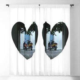 Mykonos Romance Blackout Curtain