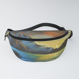 Tropical Sunset Fanny Pack