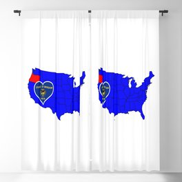 State of Oregon Blackout Curtain