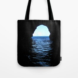 Don't be here at high tide Tote Bag