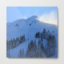 Ghosts In The Snow Metal Print