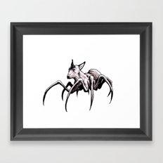 Spider-Dog Framed Art Print