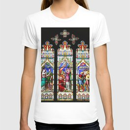 Cathedral Stained Glass 3 T-shirt
