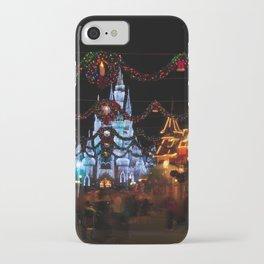 Christmas Castle I iPhone Case