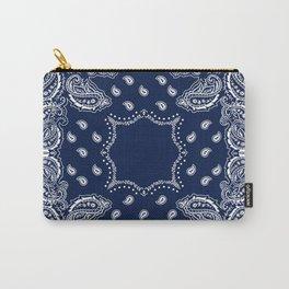 Bandana - Navy Blue - Boho Carry-All Pouch