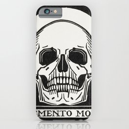 Julie de Graag - Memento mori iPhone Case