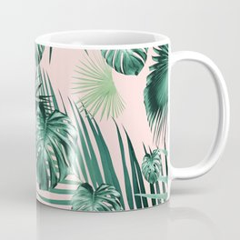 Tropical Jungle Leaves Garden #2 #tropical #decor #art #society6 Coffee Mug