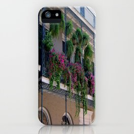 New Orleans Florals iPhone Case