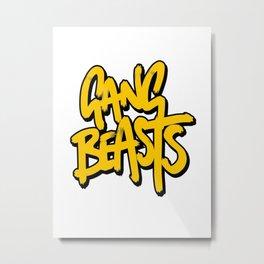 Gang Beasts Metal Print