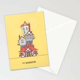 The Burrow Stationery Cards
