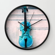 Violin IV Wall Clock