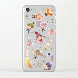 Ulla Dolls : Winter Wonderland Clear iPhone Case
