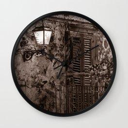 Sicilian Nocturnal Impression - Duplex Wall Clock
