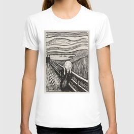The most famous scream in the world of art T-shirt
