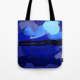 Loving Blue Tote Bag