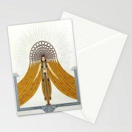 "Art Deco Oriental Design ""Café Foujita"" Stationery Cards"