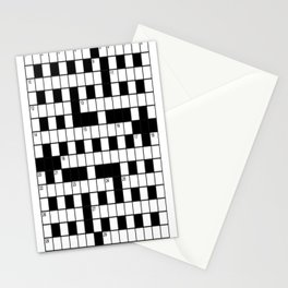 Cross Words Stationery Cards