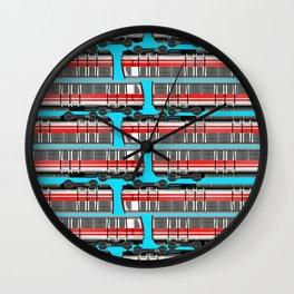 Subway Cart Wall Clock