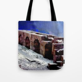 Winter Fort Tote Bag