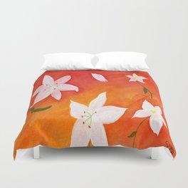Flores 5 Duvet Cover