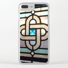 Sapphire Link Clear iPhone Case