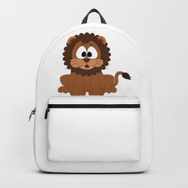 Cute Baby Lion Backpack