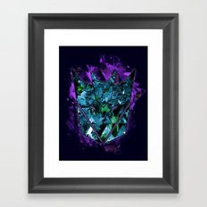 Decepticons Abstractness - Transformers Framed Art Print