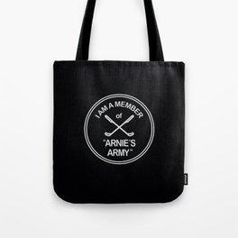 Arnies Army Tote Bag