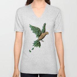 Wood Bird Unisex V-Neck