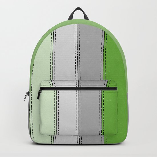 Green lines Backpack