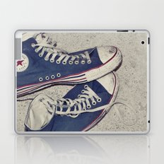put your boots back on... Laptop & iPad Skin