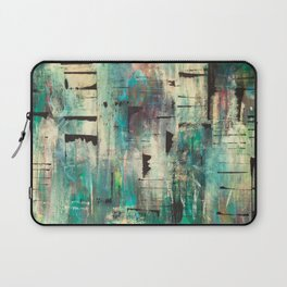 """SINGING IN THE RAIN"" Original Painting by Cyd Rust Laptop Sleeve"