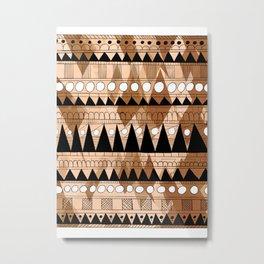 Aztec Pattern 3 Metal Print