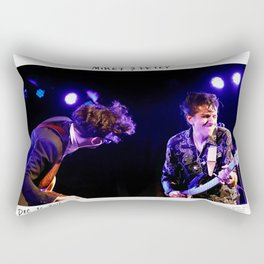 Birds in the Boneyard, Print 20: Mikey & Petey Rectangular Pillow