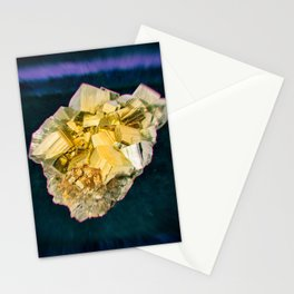 Fool's Gold Mineral Stationery Cards
