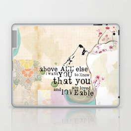 Above All You are Loved Laptop & iPad Skin