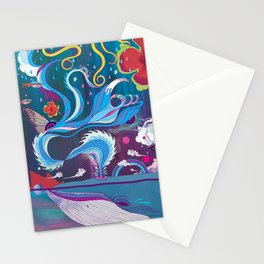 Every Time a Whale Blows Their Spout, a New Dream is Born. Stationery Cards