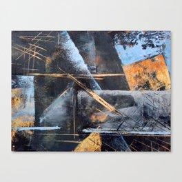 City Street at Dusk Canvas Print