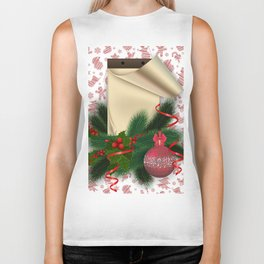 Christmas decoration Biker Tank