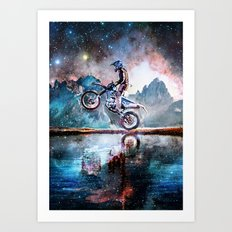 Dream Ride Art Print