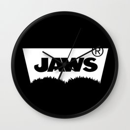 Jaws Jeans Wall Clock