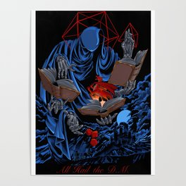 Dungeons, Dice and Dragons - The Dungeon Master Poster