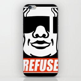 refuse iPhone Skin