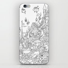 Breakfast Treehouse iPhone Skin