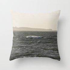 Distance To Groix Throw Pillow