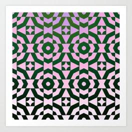 Cosmic Tile Art Print
